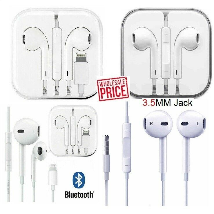 Gift For Apple Iphone 6 7 8 Plus X Xs Max Xr 11 Wired Headset Headphones Earbuds Apple Ear Earbud Headphones Apple Iphone 6 Earbuds