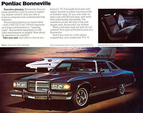 1975 Pontiac Bonneville Silver Pontiac Bonneville Pontiac Vinyl Roofing