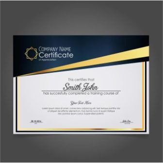 free vector download completion certificate templates httpwwwcgvectorcomfree vector download completion certificate templates abstract