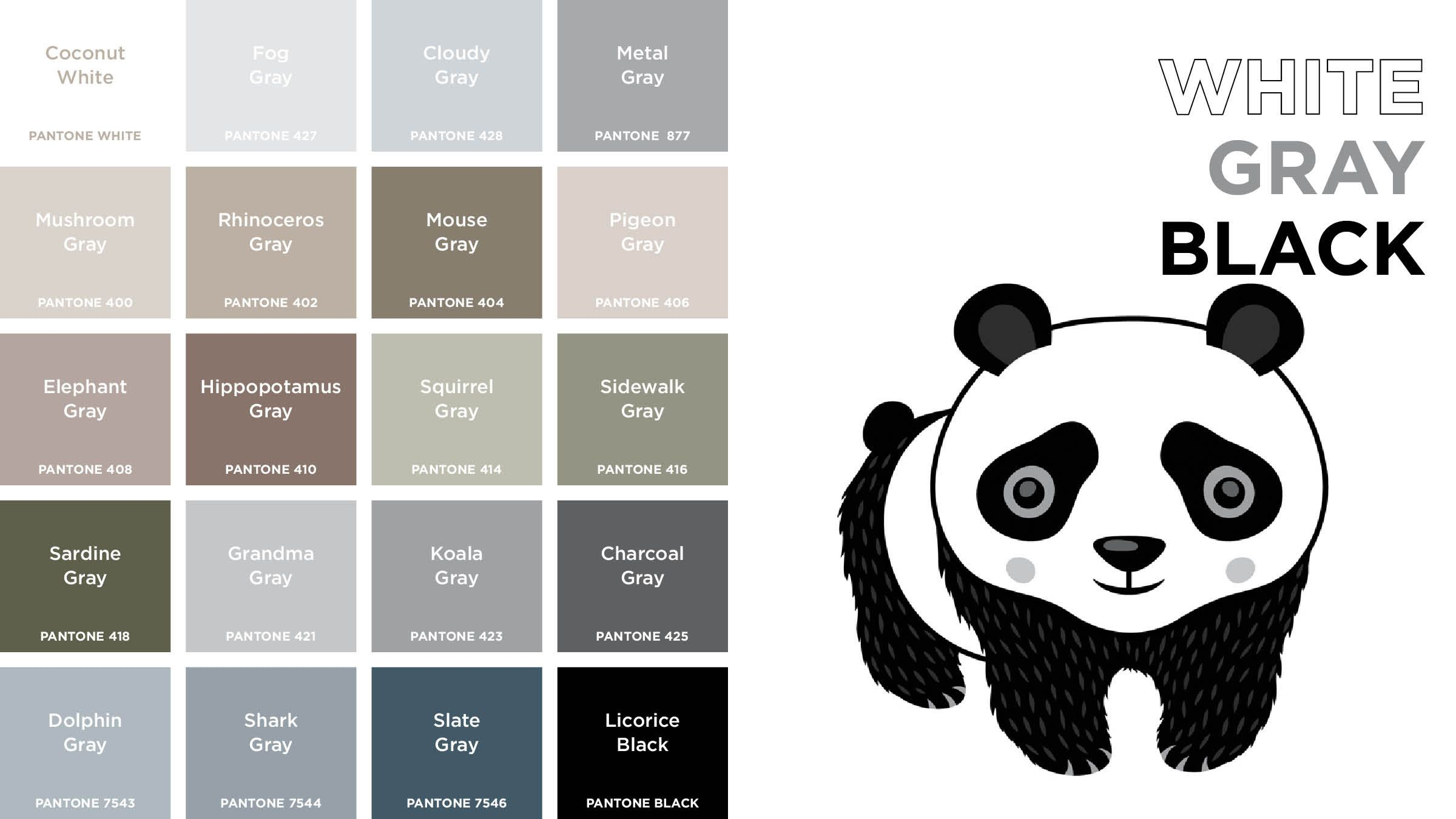 Pantone Colors: A Board Book for Designer Geeks | Panda cuteness ...