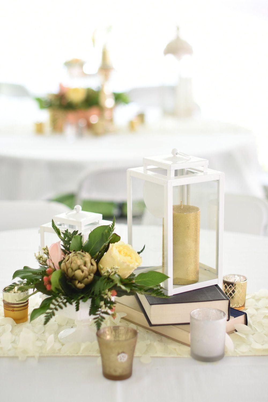 Featured Wedding // A Gold + Blush Modern Romance Iowa Wedding by ...