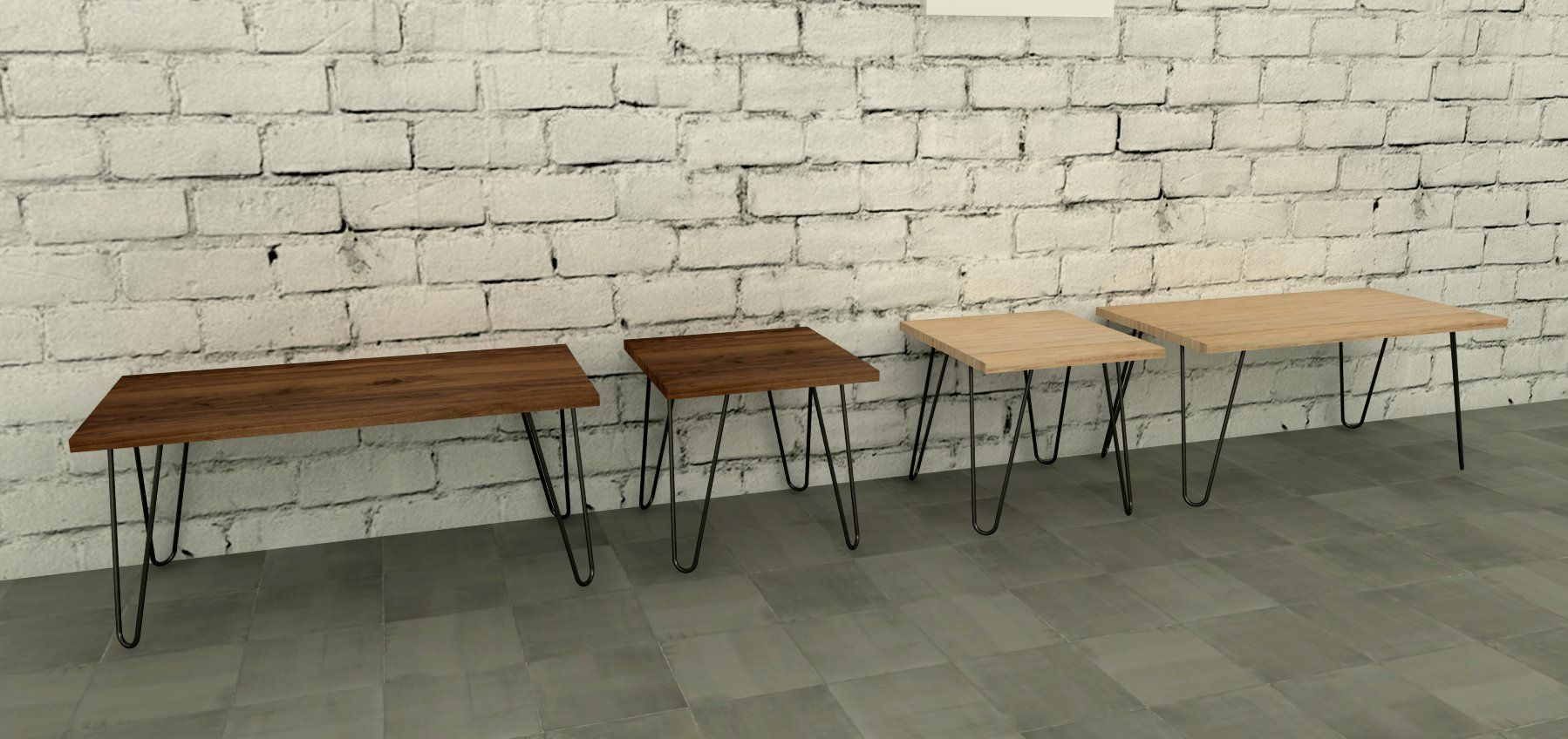Hairpin Leg Coffee Tables Are Handmade In Australia Ideal For Your Home Or Office Can Choose
