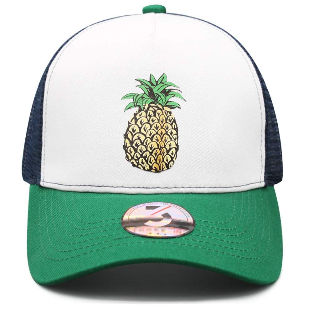 4e8e8f3138f64 Amazon.com  Odelia Walter Mens Womens Pineapple Dad Hat Baseball Cap Low  Profile (Puppy Pineapple)  Clothing