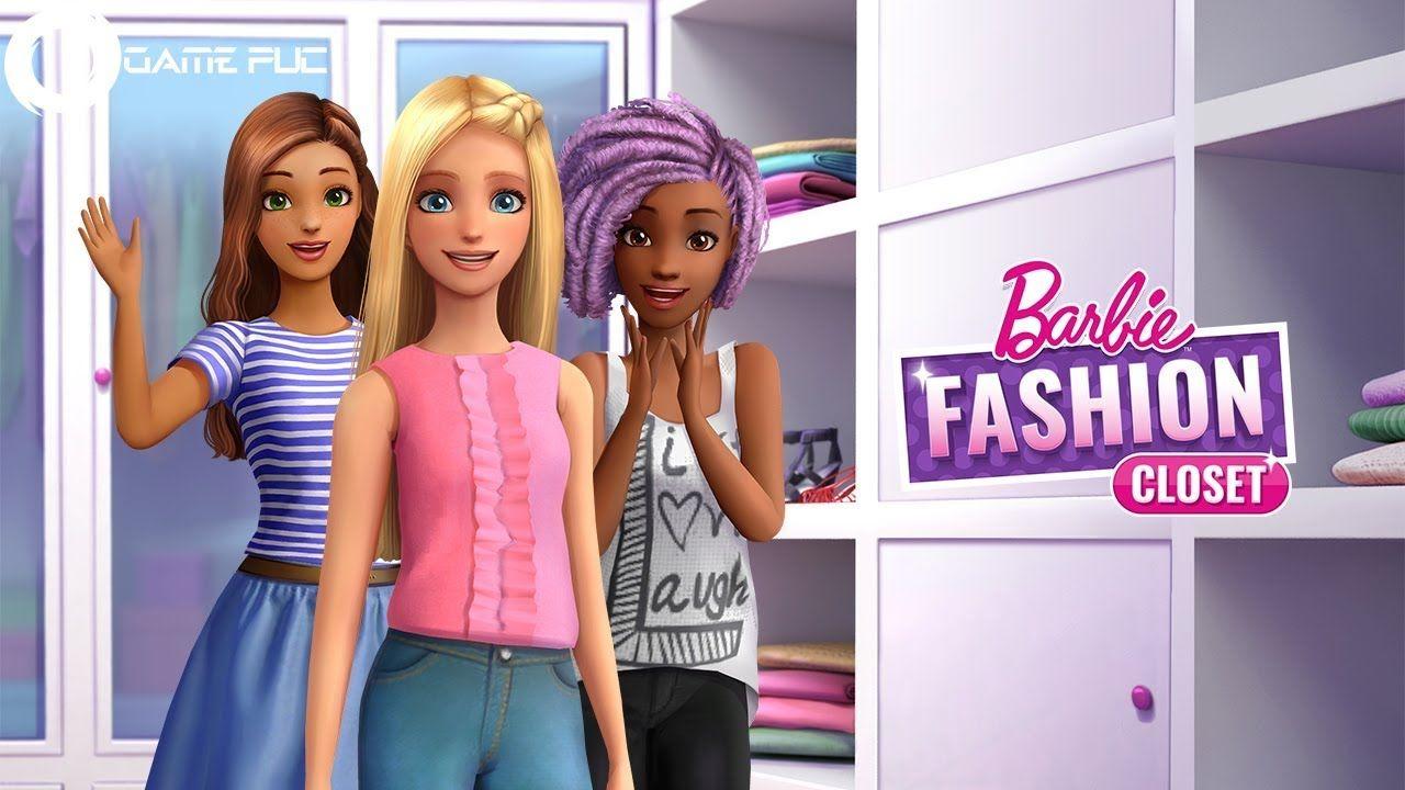 Barbie™ Fashion Closet Toys Kids Games