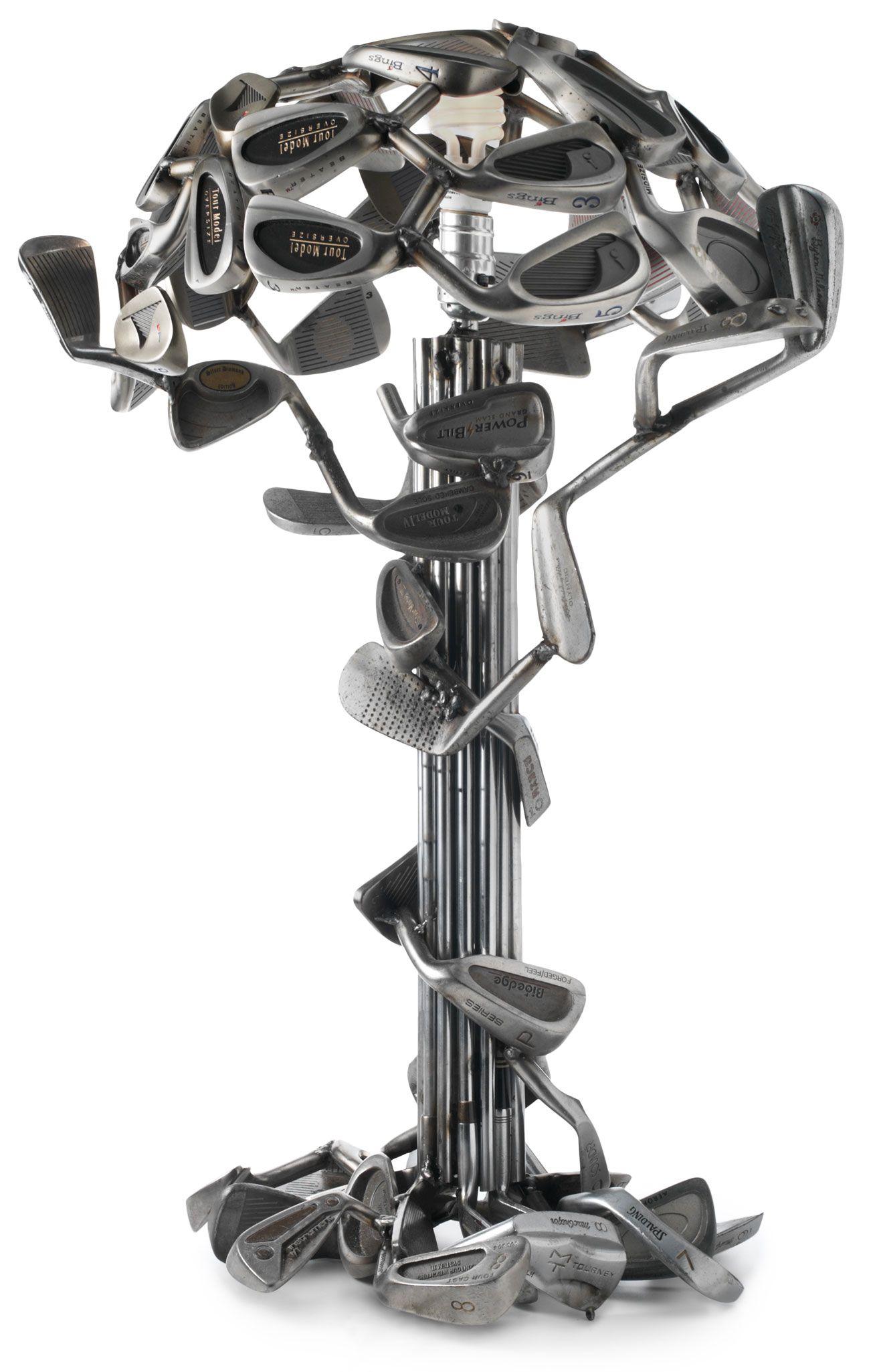 Golf Club Table Lamp Jeff Diamond Golf Accessory