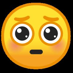 Pleading Face On Google Android 9 0 In 2021 Emoji Emoji Stickers Emoji Wallpaper