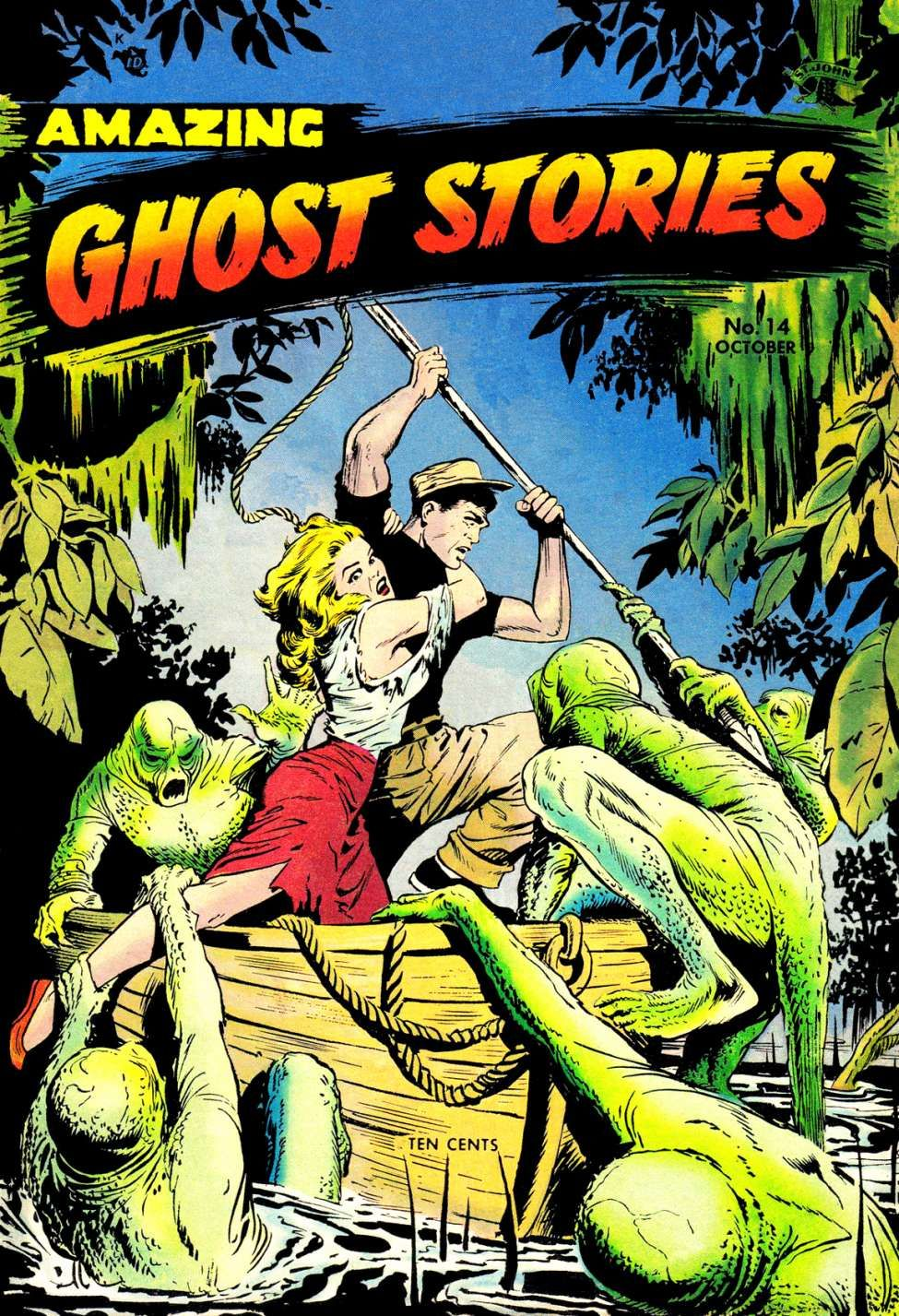 Comic Book Cover For Amazing Ghost Stories v1 #14