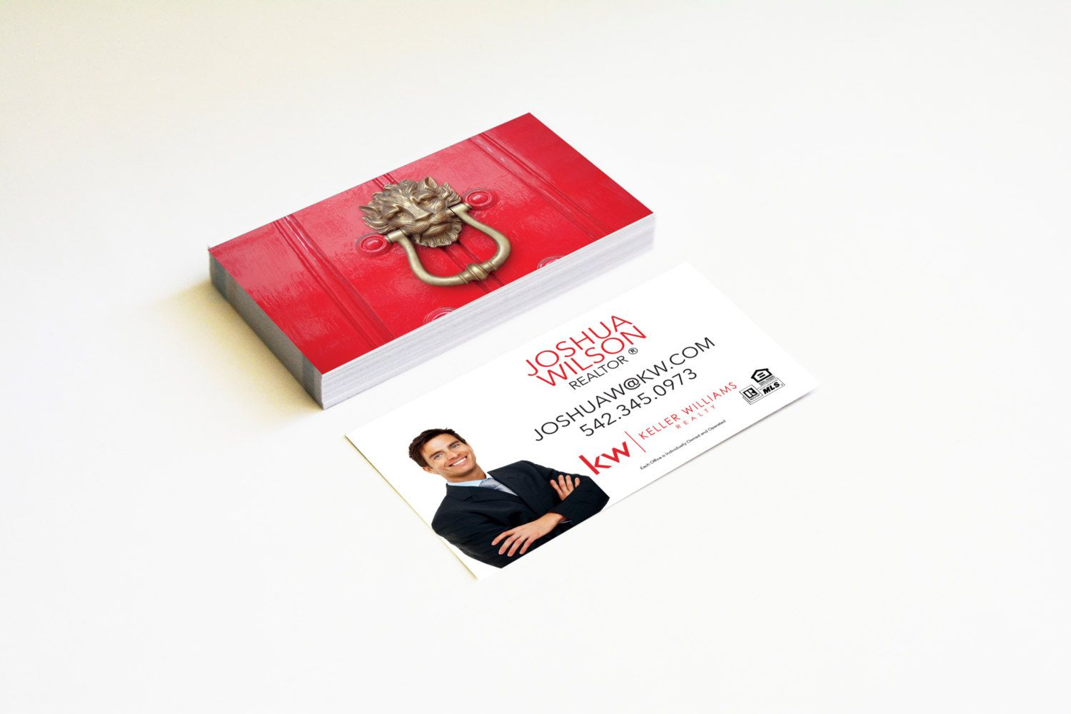 Real estate business cards red door lion modern card realtor keller real estate business cards red door lion modern card realtor keller williams gloss or matte reheart Images