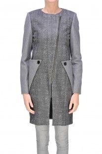 Mauro Gasperi - Cappotto in misto lana e cashmere :: Glamest Luxury Outlet Online Donna