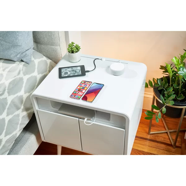 Sobro Smart End Table with BuiltIn Outlets in 2020