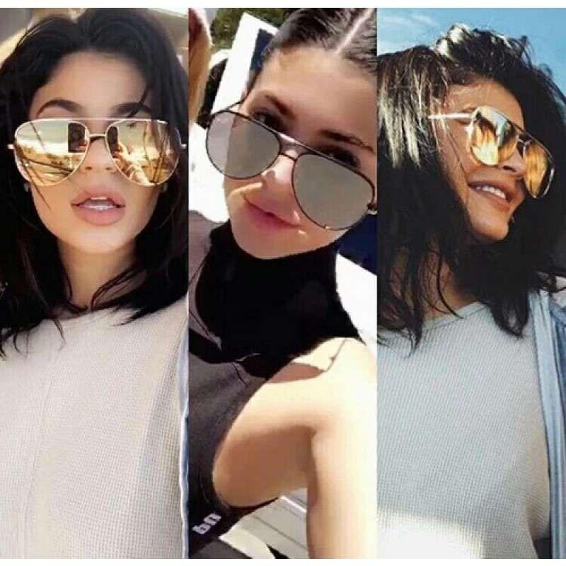 0b1709d1e86 Quay X Desi High Key Zonnebril in Zwart - Limited Edition - Kylie Jenner