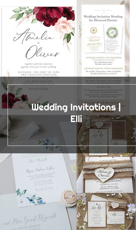 Wedding Invitation Wordin Panosundaki Pin