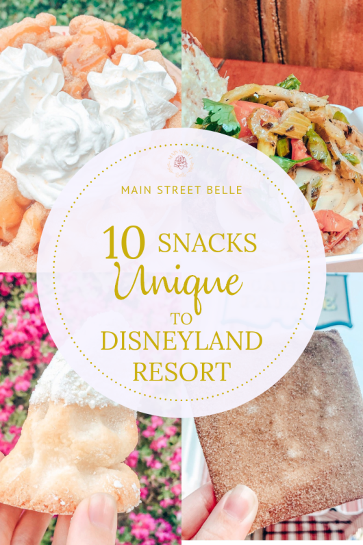 10 Snacks Unique to Disneyland Resort #disneylandfood