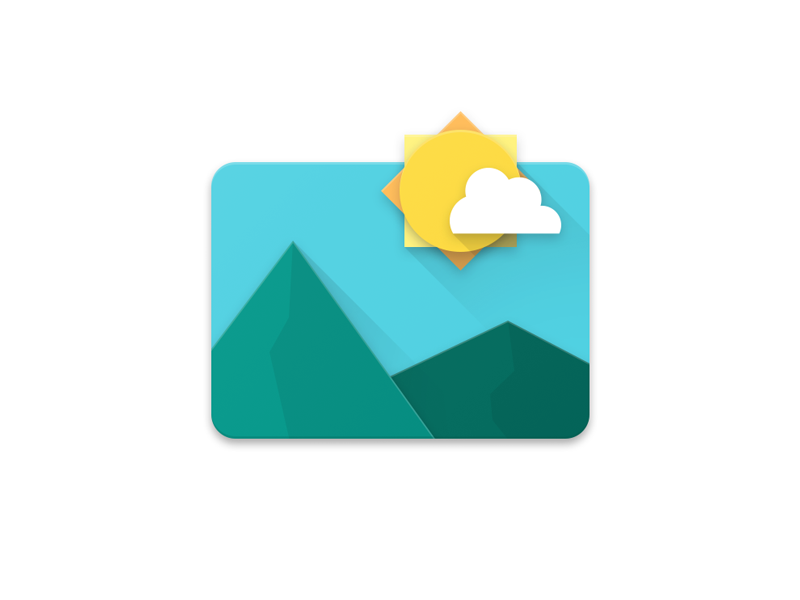 android gallery material icon by maximilian keppeler