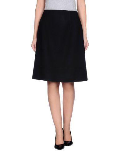 JIL SANDER Knee Length Skirt. #jilsander #cloth #skirt