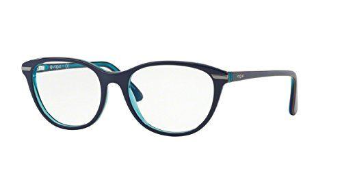Vogue VO2937 Eyeglass Frames 227853 BluetteOrangeAzure Tr ** Want to ...
