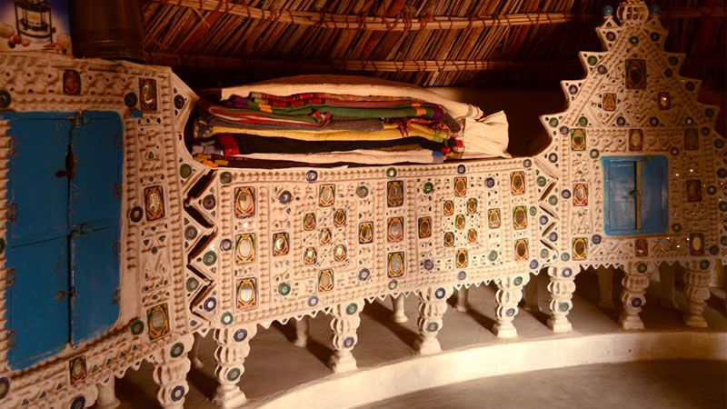 d 39 source resources gallery content habitats of kutch bhunga traditional houses of kutch. Black Bedroom Furniture Sets. Home Design Ideas