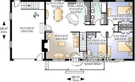 Casa plan W2240
