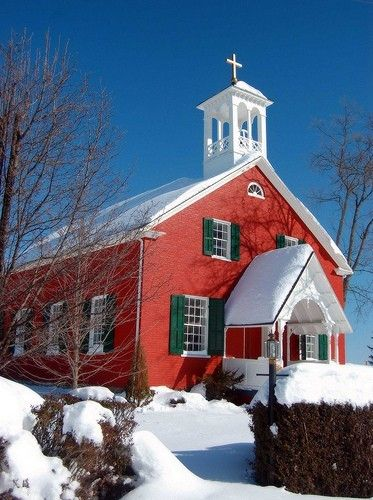 30 Churches In Snow Ideas Country Church Old Churches Old Country Churches