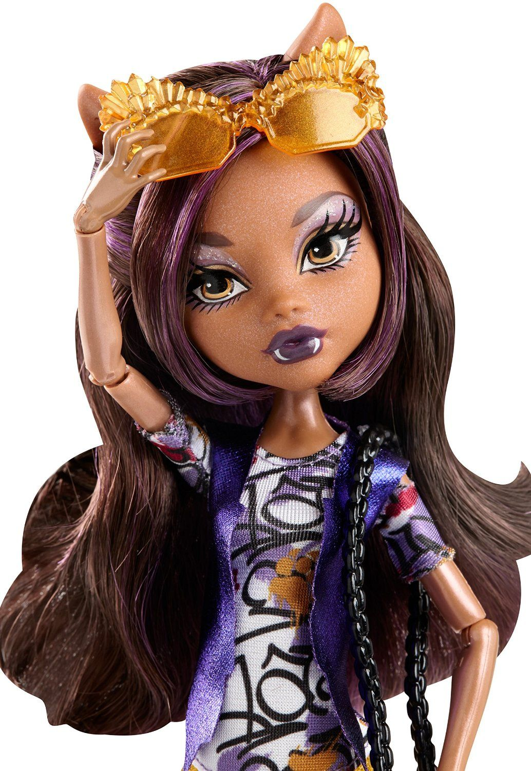 Amazon Com Monster High Boo York Boo York Frightseers Clawdeen Wolf Doll Toys Games Monster High Monster High Dolls Monster