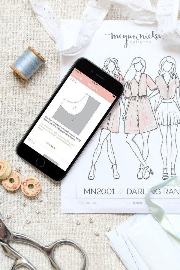 introducing: the Megan Nielsen Patterns App   Patterns   Pinterest ...
