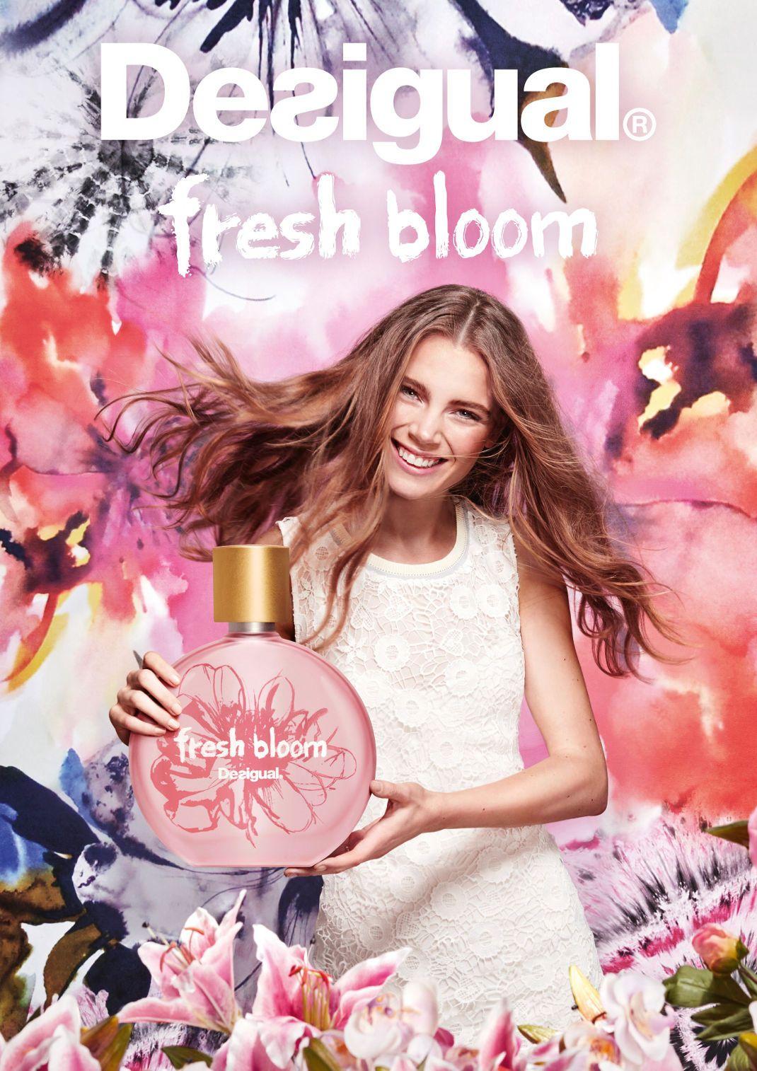 In Desigual Bloom AdParfums ParfumS Fresh 2019 Publicité rdCtsQxh