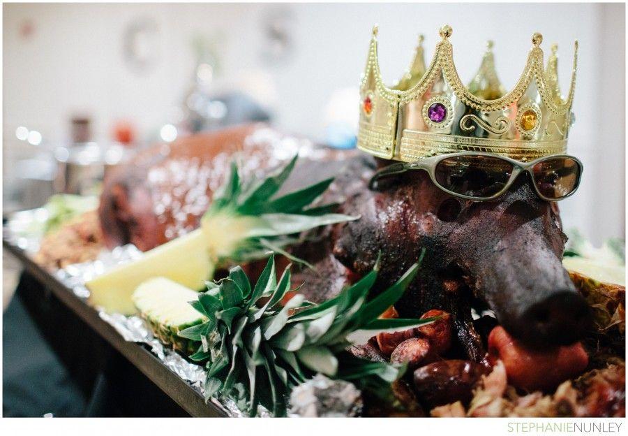 A Whole Hog A Unique Wedding Reception Food Idea All Things Pig