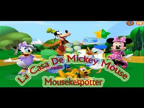 La Casa De Mickey Mouse En Espanol Juego Mousekespotter Capitulos Completos La Casa De Mickey Mouse Mickey Mouse Mickey