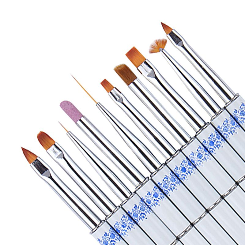 1Pc Nail Brushes Drawing/Painting/Line Stripe Stick for UV Gel ...
