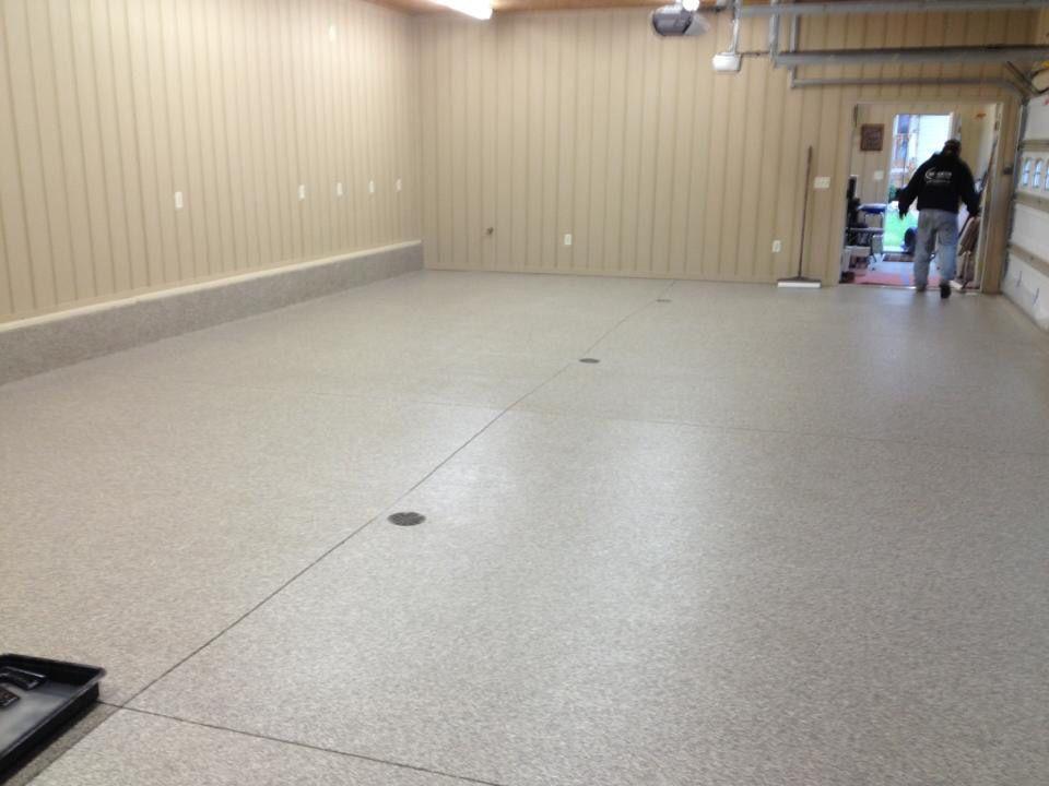 Epoxy Chip Garage Floor Re Deck Of Northwest Ohio Delphos Ohio Metal Roof Repair Metal Roof Leaks Roof Leak Repair