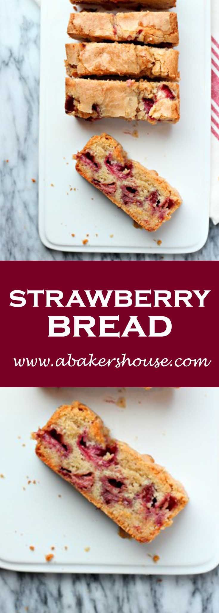 Make this gorgeous strawberry bread with fresh or frozen ...