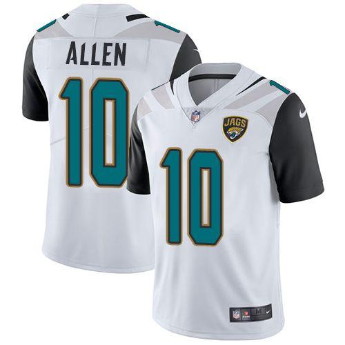 5b0bf1be797 Youth Nike Jacksonville Jaguars  10 Brandon Allen White Vapor Untouchable  Limited Player NFL Jersey