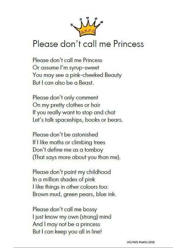 Disney Princess Overload The Result Illustrated Poem