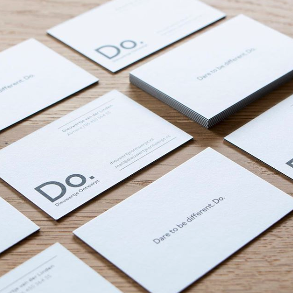 Dieuwertje Ontwerp X Moo Luxury Paper Place Card Holders Business Cards