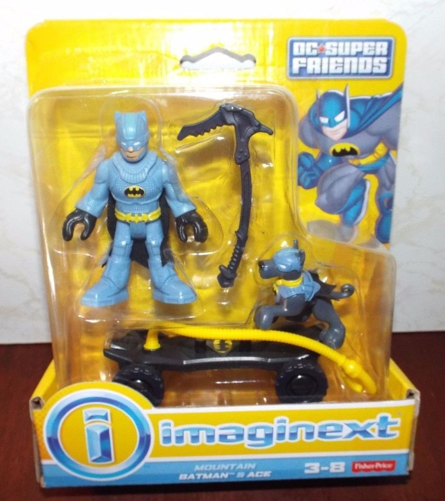 DC Fisher Price Imaginext Batman Robin Loose Action Figure B