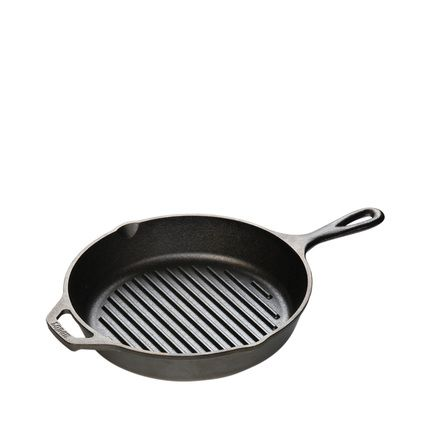 buy lodge logic cast iron grill pan 10 25 inch online india