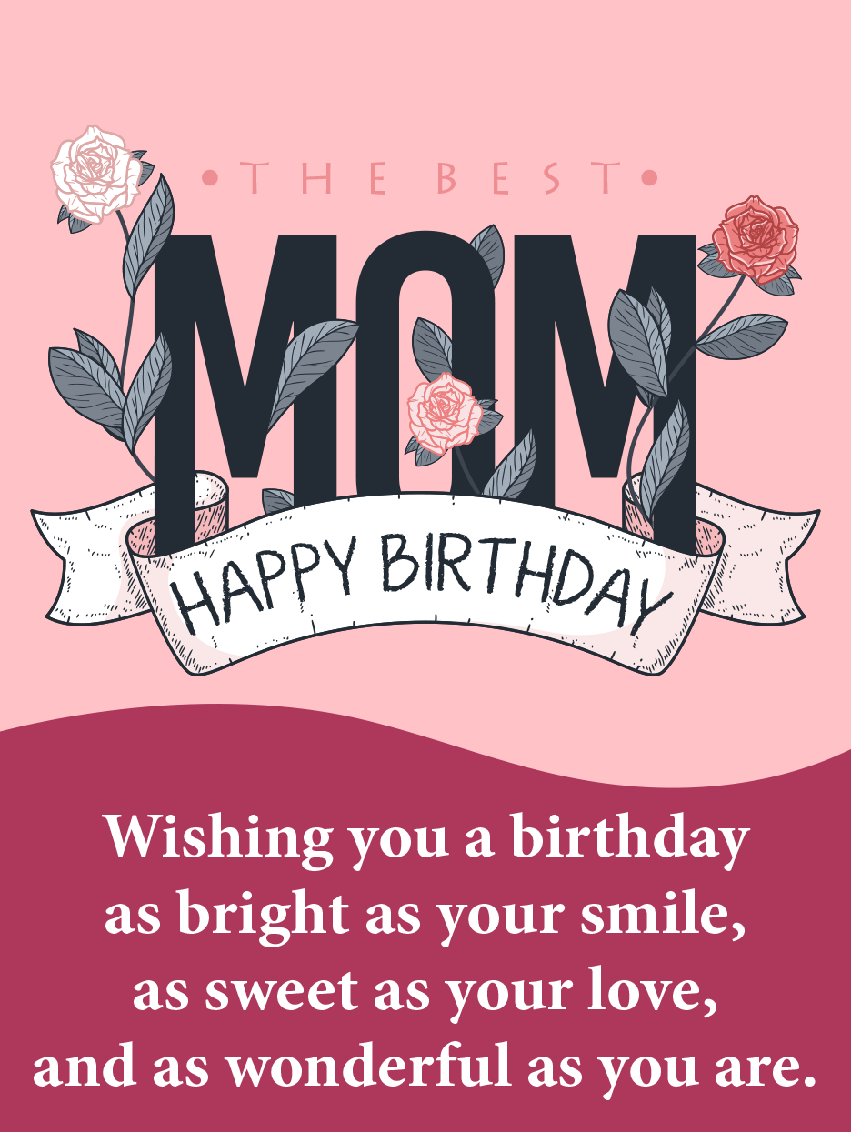 Mother S Power Happy Birthday Mom Cards Birthday Greeting Cards By Davia Happy Birthday Mom Birthday Cards For Mother Birthday Greetings For Mother