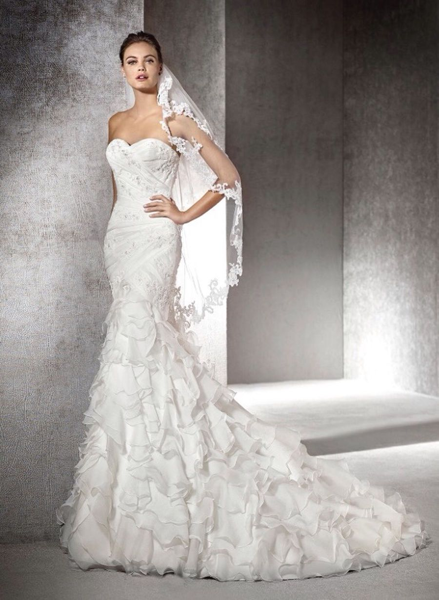 Wedding dress eresma for sale i do pinterest french bustle
