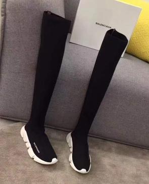 balenciaga knee high sneakers