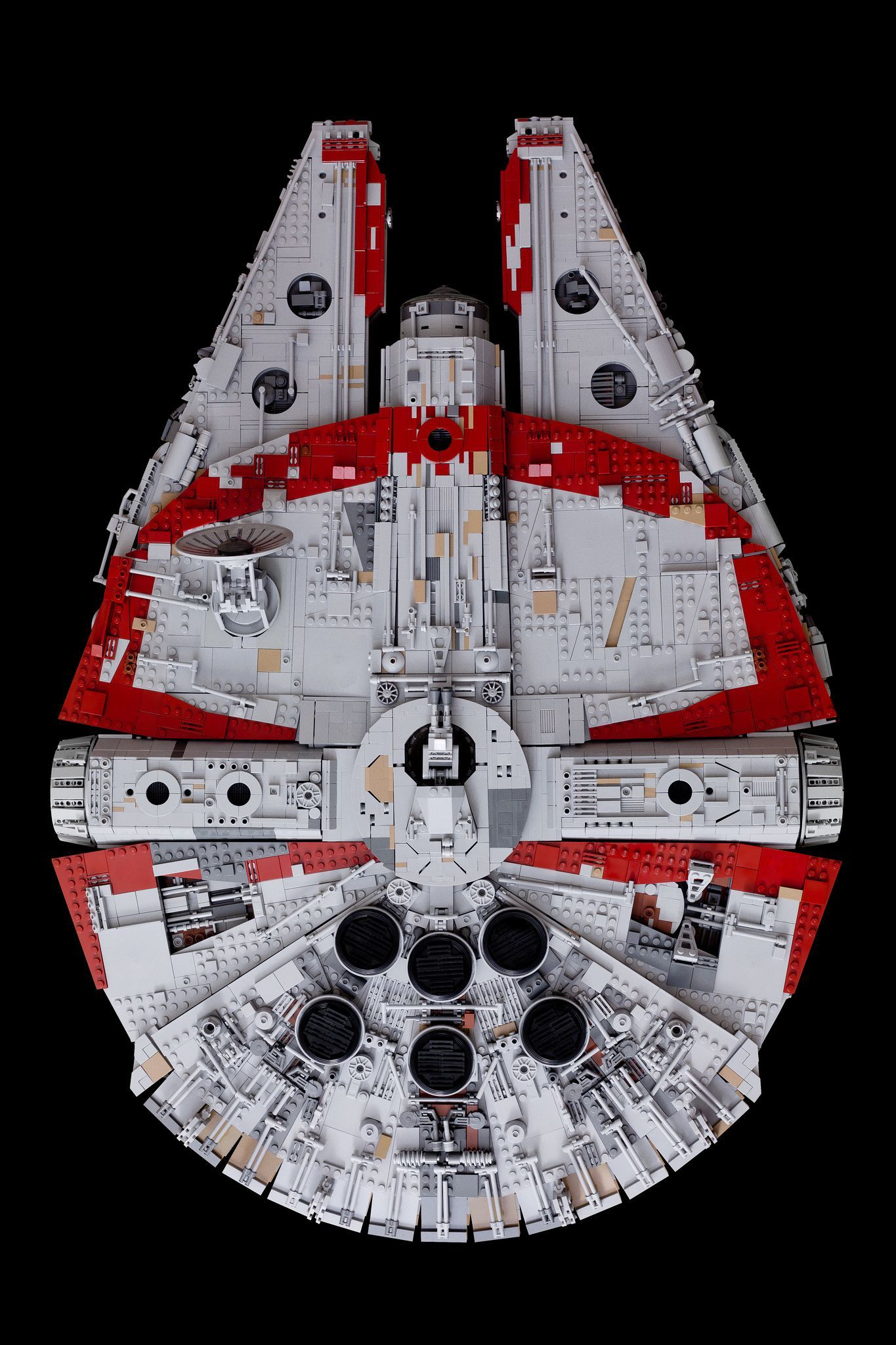 """Heavily modified YT 1300 """"Red Fox"""" (Freighter Wars)"""