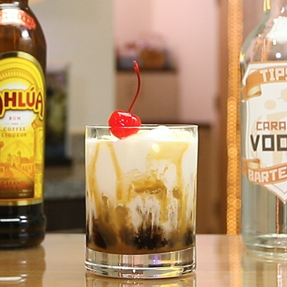 Caramel White Russian   Tipsy Bartender   Recipe   Vodka recipes ...