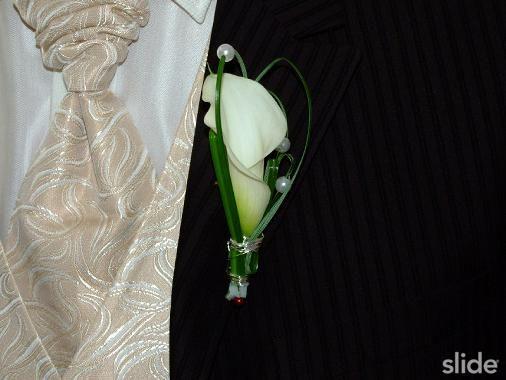 Blumenschmuck Hochzeit Calla Anstecker Google Suche Brautstrauss