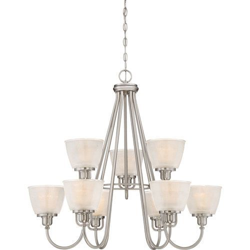 Dublin Brushed Nickel 32-Inch Nine-Light Chandelier | Products ...