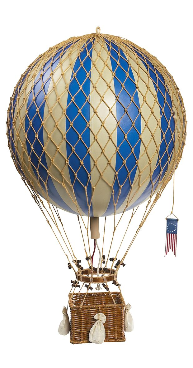 Up, up, and away! Imaginations soar with a little help from our Into the Blue Hot Air Balloon, an adorable addition to a child's bedroom, play space, or anywhere in need of a little dash of whimsy. Wit...  Find the Into the Blue Hot Air Balloon, as seen in the The Best of Steampunk Collection at http://dotandbo.com/collections/the-best-of-steampunk?utm_source=pinterest&utm_medium=organic&db_sku=116974
