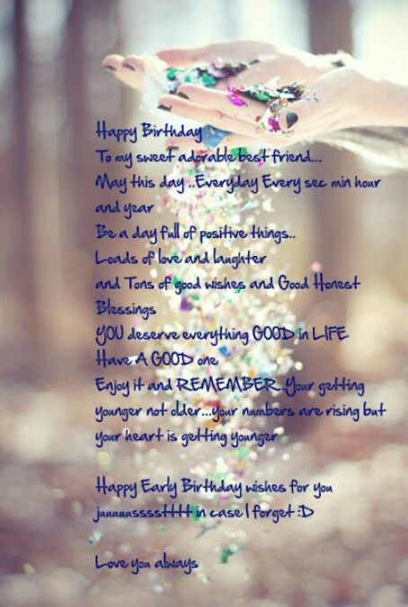 Happy Birthday Best Friend Quotes Wishes For Pictures