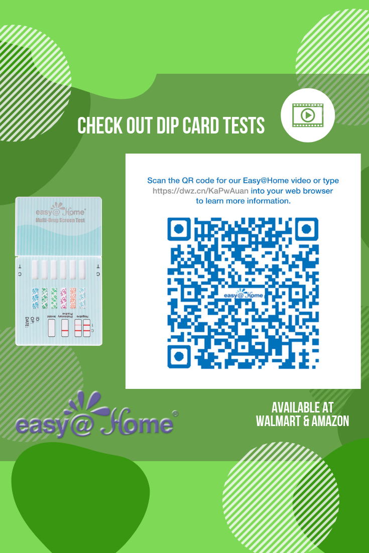 Check Out Easy Home Dip Card Urine Drug Tests Easy Home Provides A Variety Of Drug Test Options Depending On Your Need Drug Test Drug Tests How To Find Out