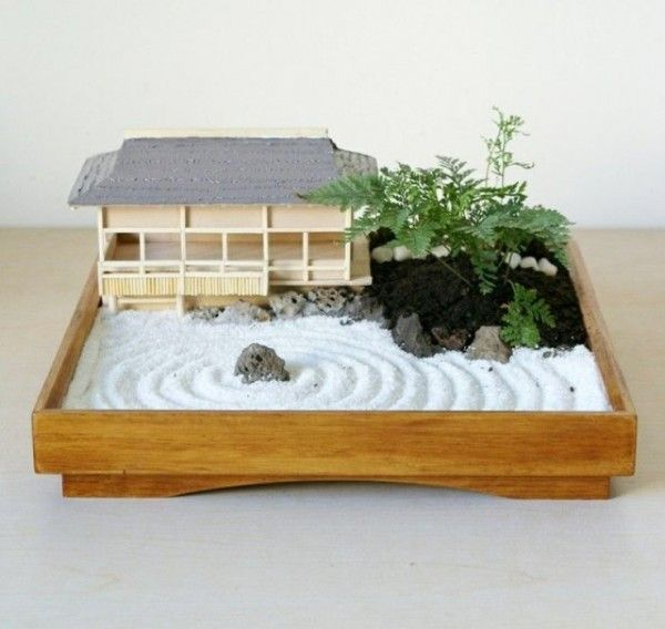 c mo hacer un jard n zen en miniatura gardens bonsai and miniature gardens. Black Bedroom Furniture Sets. Home Design Ideas