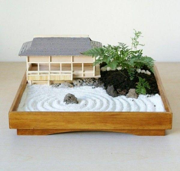 Exceptional Mini Zen Garden Part - 1: Cómo Hacer Un Jardín Zen En Miniatura. Miniature Zen GardenMini ...