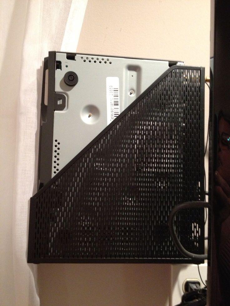 pinterest mounted tv hide cable box with bookshelf - Recherche Google