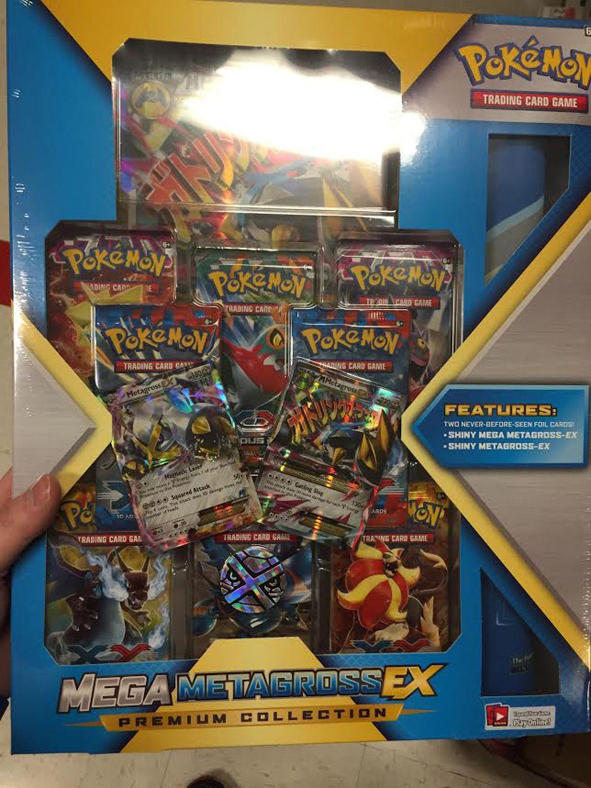 Mega metagrossex premium collection pokemon pokemon